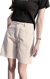 アイビエツ(AIBIETU) レディース ファッション ショートパンツ 薄手 5分丈 ウエストゴム カジュアル アウトドア ハーフ パンツ 夏