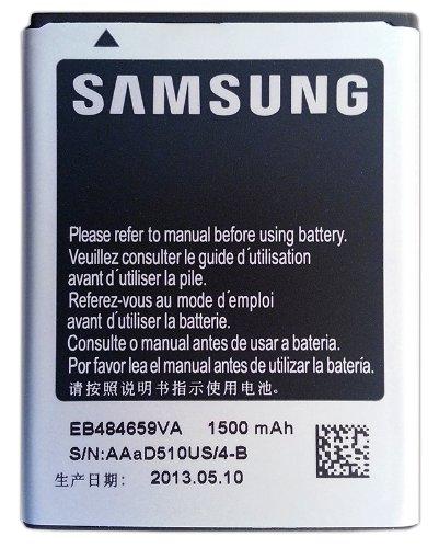 Samsung EB484659VA 1500 mAh Battery for Samsung Conquer 4G SPH-D600   Exhibit 4G SGH-T759   Exhibit II 4G SGH-T679   Focus Flash SGH-I677   Galaxy Centura SCH-S738C   Gravity Smart SGH-T589