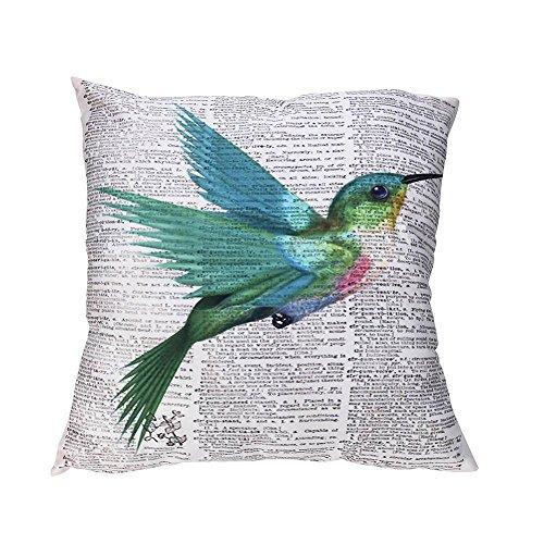 VJGOAL Encantador Animal de impresión Funda de Almohada Suave comfoatable sofá Coche Cuadrado Funda de cojín decoración para el hogar extraíble y Lavable(45_x_45_cm,Multicolor2)