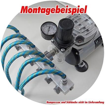 Aerografo Distributore ad aria compressa a 3 vie