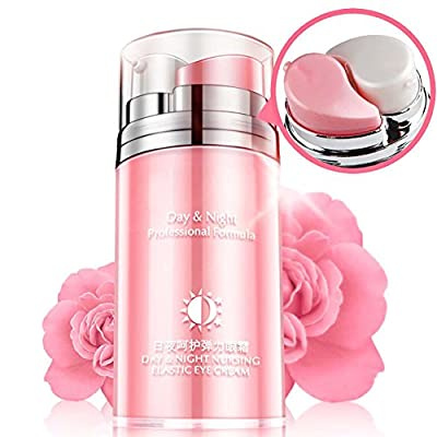Eye Serum Eye Cream Rose Essence Oil Day And Night Moisturizing Fine Lines Pouch Firming Moisturizing Hydration Anti Dark Circle Remove Moisturize Anti-wrinkle Firming Eye Cream Eye Bags for Women