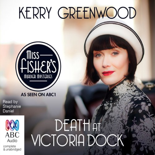 Death at Victoria Dock audiobook cover art