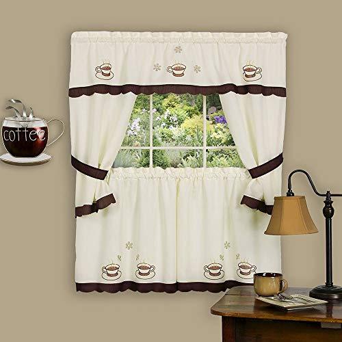 cortinas cocina cafe