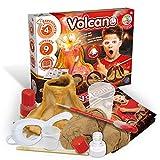 Science4you-Volcán DIY, Juguete Cientifico Que Desarrolla la Manualidades, 4 Experimentos y un Libro Educativo para Niños +8 Años, Multicolor (80002396)