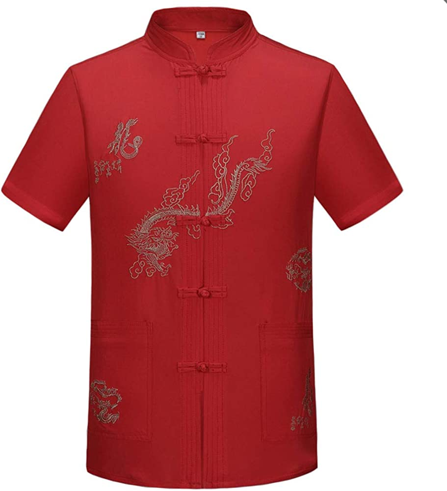 Tang Suit Men Hanfu Baltimore Mall Chinese Traditional Kung Un OFFicial store Clothes Fu Shirt