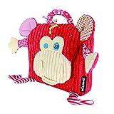 Déglingos DEG-35012 - Mochila Bogos El Mono Rojo