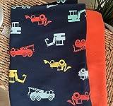 Stoffpaket für Jungen 0,5m*1,4m Jersey Bagger dunkelblau