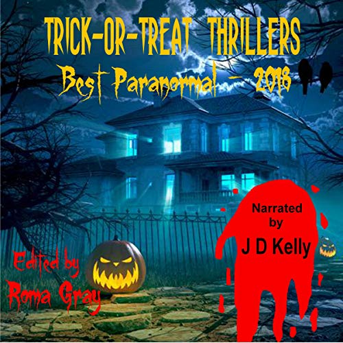 Trick-or-Treat Thrillers audiobook cover art