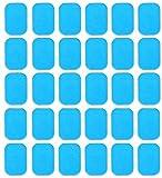 AngelZYJ 30 Tabletas Gel Pad para EMS Electroestimulador Muscular Abdominales, EMS Gel Hojas para Masajeador Eléctrico Cinturó, ABS Estimulador Muscular Repuesto De Repuesto Accesorios