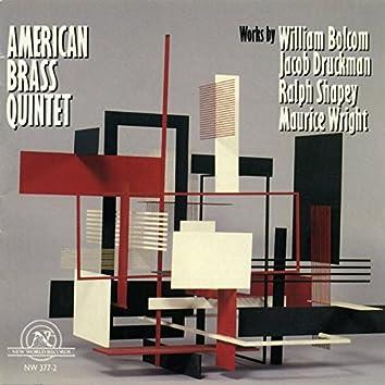 American Brass Quintet: Works by Bolcom, Druckman, Shapey, Wright