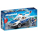 Playmobil City Action 6920 Police Car with Light and Sound Effects for Children Ages 5+