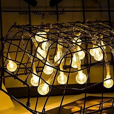 Luces Decorativas De Hadas Con Pilas Para El Dormitorio Cuerda De Luces Led A Prueba De