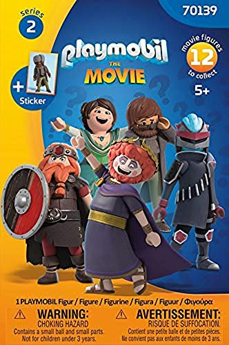PLAYMOBIL:THE MOVIE 70139 Zufalls-Figur (Serie 2), Ab 5 Jahren