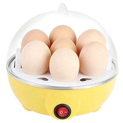 Velveeta Eggs Device Multifunction Poach Boil Electric Egg Cooker Boiler Steamer, 1Pc(Assorted Color)