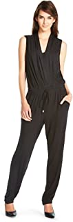 Mossimo Women Jumpsuit Sleeveless Jumpsuit - XXL Black