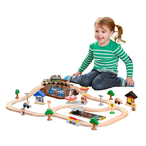 KidKraft 17826 Set circuito de tren de...