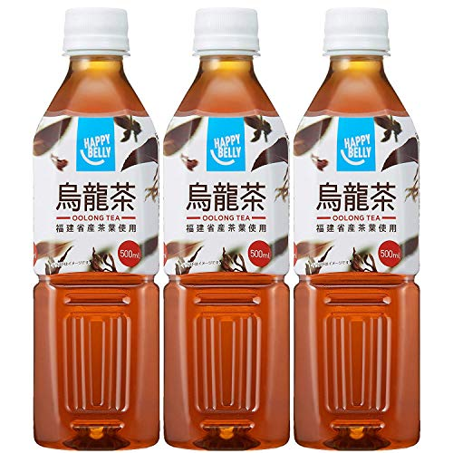 Amazon Happy-Belly 烏龍茶 500ml×3本