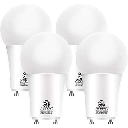 Gu24 Led Light Bulb 60 Watt Equivalent 8 5w 3000k Warm White 800 Lumens Non Dimmable 2 Prong Light Bulb Ul Listed 4 Pack Amazon Com