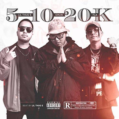 Ginjin, Lil Thug E & Fla