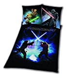 Ropa de cama Star Wars Espada lucha Rey Finn tico Yoda 135 x 200 nuevo WOW – All-in-One de Outlet de 24 de
