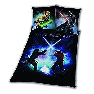Ropa de cama Star Wars Espada lucha Rey Finn tico Yoda 135 x 200 nuevo WOW – All-in-One de Outlet de 24 de 1