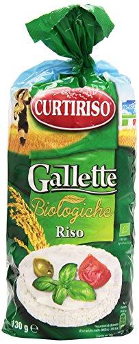 Curtiriso Gallette Biologiche Riso - 130 gr