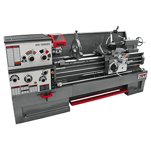Cheap JET GH-1660ZX Lathe with NEWALL DP700 DRO Installed