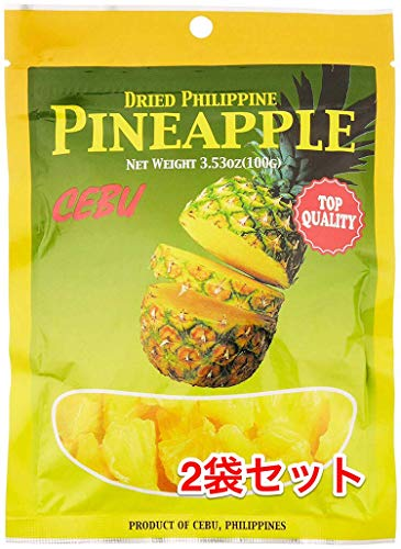 【お得】セブ ドライパイナップル 100g ? 2袋セット