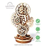 Ugears Steampunk Clock スチームパンククロック 木製 ブロック DIY パズル 組立 想像力 創造力 おもちゃ