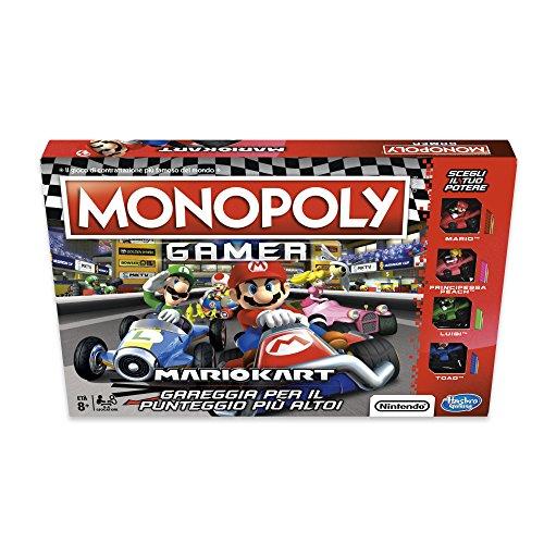 gioco da tavolo super mario Hasbro Monopoly - Monopoly Gamer Mario Kart