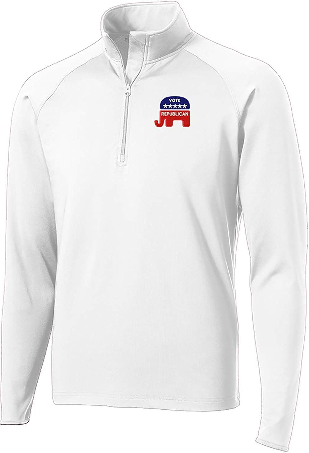 Peerless Vote Republican Trump 2020 Stretch 1/2-Zip Pullover ST850
