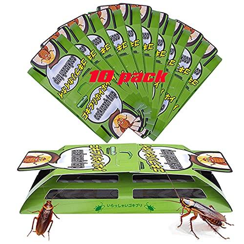 Roach Killer, Roach Killer Indoor,Cockroach Killer Indoor Home,Roach Traps,Cockroach Killer,Roach Bait,Roach Motel,Child & Pet Friendly (10 Pack )