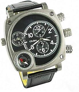 Watch 3 Black Dial Stainless Steel Quartz W037
