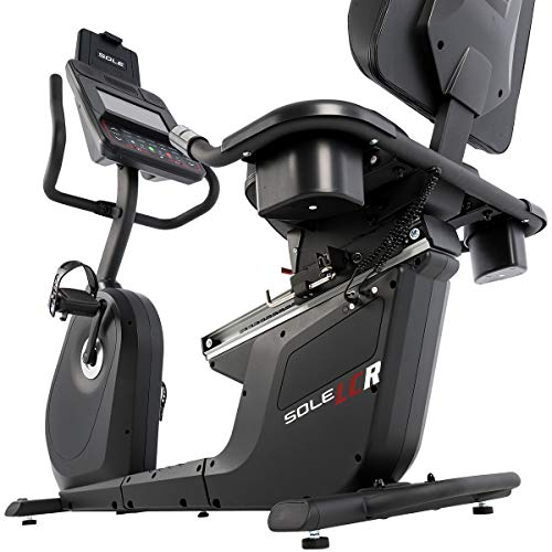 SOLE LCR Light Commercial Recumbent Bike with 40 Resistance Levels and Bluetooth