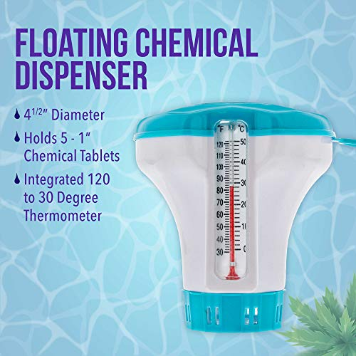 U.S. Pool Supply Professional Heavy Duty Spa, Hot Tub, Pond Cleaning