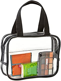 Clear Purse Stadium Approved - Clear TSA Approved Toiletry Bag For Men Women