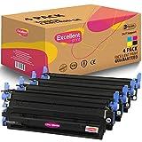 Excellent Print Q6000A Q6001A Q6003A Q6002A 124A CRG-707 Compatible Cartucho de Toner para HP Colour Laserjet 1600 2600 2600n 2605dn