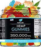 Gummies for Stress Relief – Clear Gummies - Great for Pain, Insomnia & Anxiety Management – Made in USA – Tasty & Relaxing Gummies – Premium Blend - Mood & Immune Support