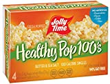 Jolly Time 100 Calorie Healthy Pop Butter Microwave Pop Corn - 4 CT (pack of 12)
