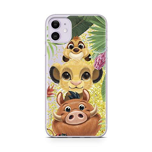 Ert Group DPCSIMBF1950 Custodia per Cellulare Disney Simba and Friends 003 iPhone 11