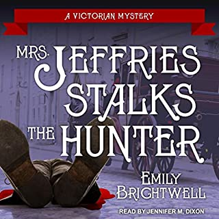 Mrs. Jeffries Stalks the Hunter cover art