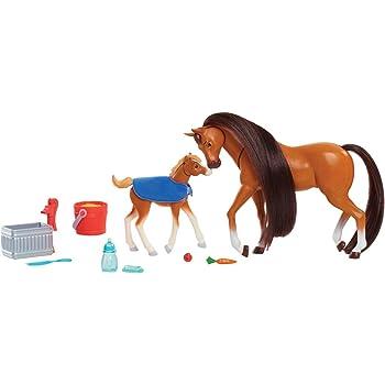 Spirit-Nourrir et Nuzzle Mother /& Foal