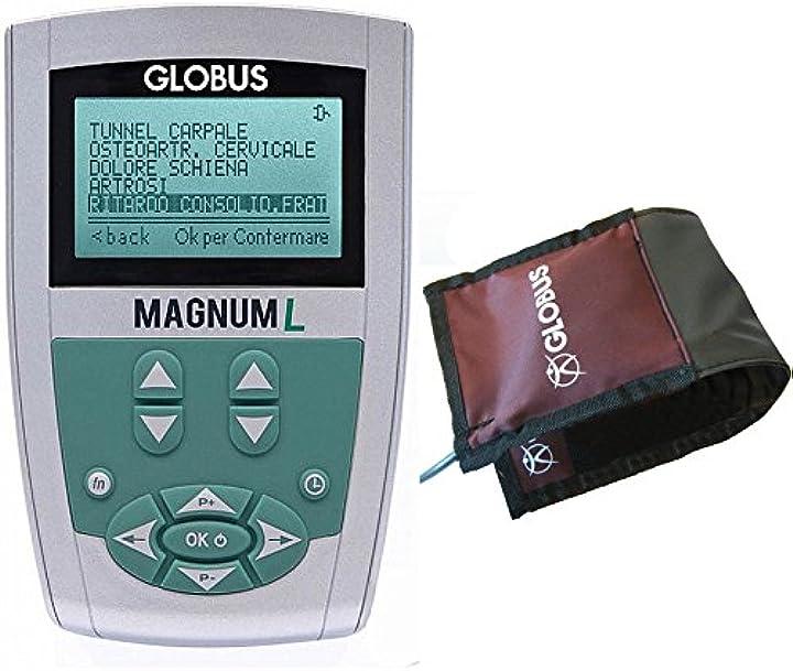 Magnetoterapia - 160 gauss - 1 canale - 8 programmi - 1 solenoide flessibile magnum l globus G3947