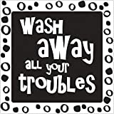 Rayher 34282000 Label wash Away All Your Troubles