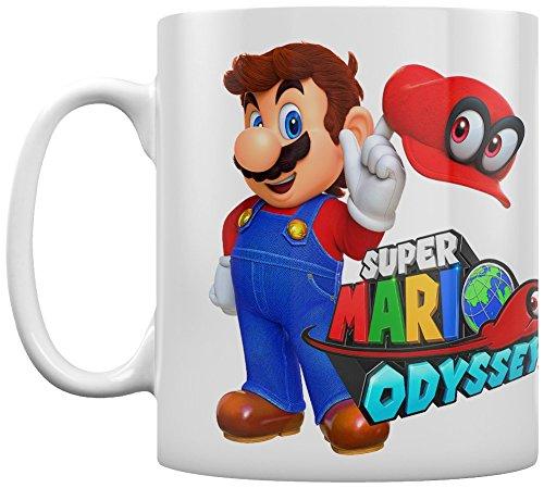 SUPER MARIO ODYSSEY - MARIO WITH CAPPY - COFFEE MUGS