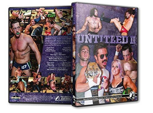 Pro Wrestling Guerrilla - Untitled II DVD by Candice Lerae