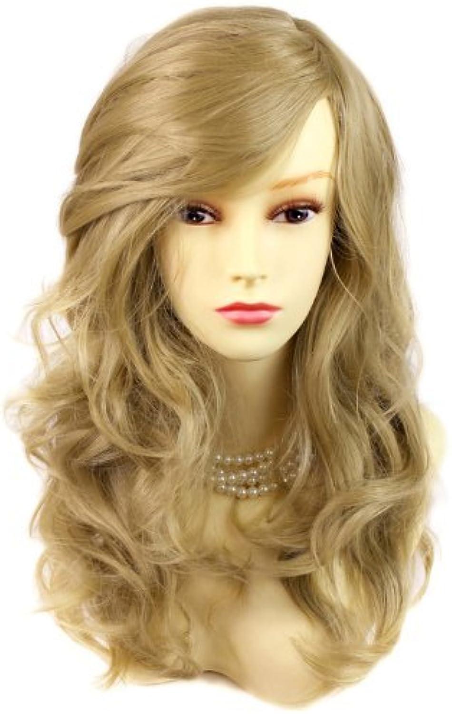 compras en linea Wonderful wavy Long oroen Blonde Curly Heat Heat Heat Resistant Ladies Wigs Hair UK by Wiwigs  primera reputación de los clientes primero