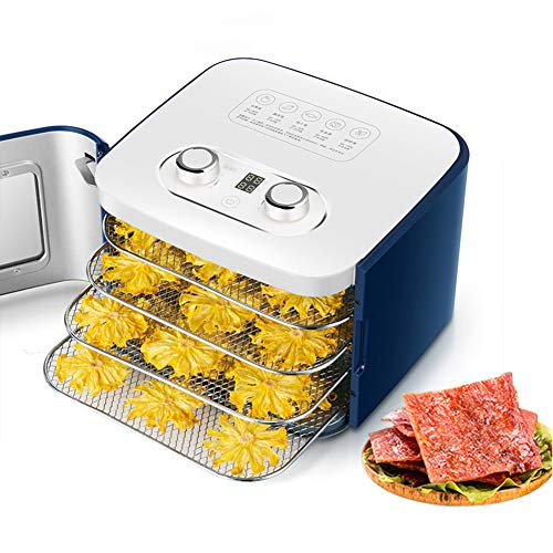 Fantastic Prices! Food Dehydrator Machine Easy Setup, Digital Adjustable Timer And Temperature Contr...