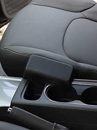KUDA 081425 Support en cuir synthétique noir pour Nissan Pathfinder (III R251) (Facelift) à partir de 2007 / Pick up/Navara (D40)
