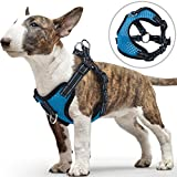 PETBABA Small Dog Harness, No Pull Vest with Front Clip Suitable Walk,...